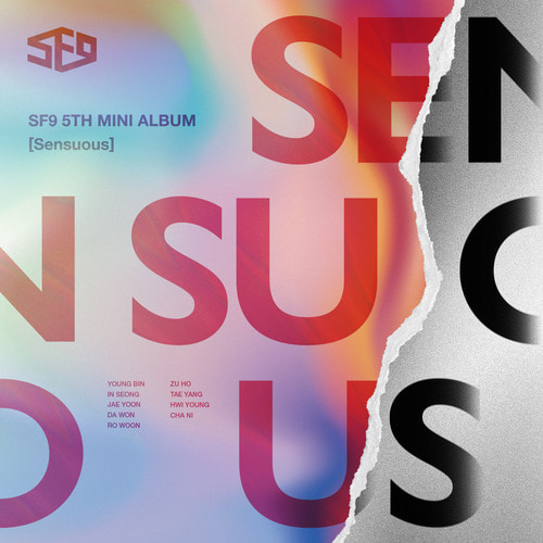 [SF9] SF9 5th Mini Album [Sensuous] Exploded Ver.
