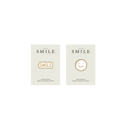[정해인] SMILE BADGE