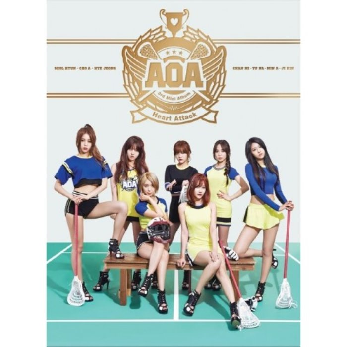 [AOA] 3rd MINI ALBUM [Heart Attack]