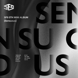 [SF9] SF9 5th Mini Album [Sensuous] Hidden Ver.
