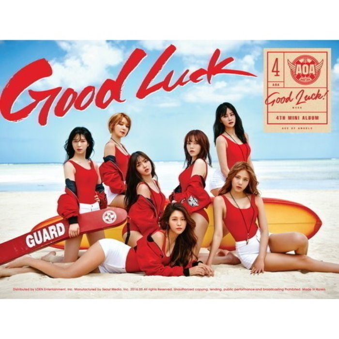 [AOA] 4th MINI ALBUM [GOOD LUCK] A ver. / WEEK