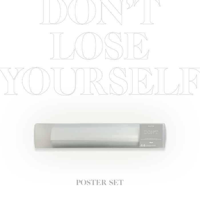 [FTISLAND] DON'T LOSE YOURSELF POSTER SET