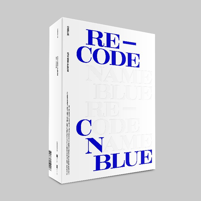 [CNBLUE] CNBLUE 8TH MINI ALBUM 'RE-CODE' Standard ver.