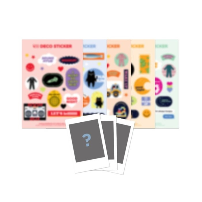 [N.Flying] N.Flying NOOB CON -  DECO STICKER SET